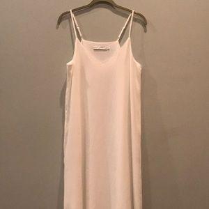 Bishop + Young Ivory Slip Dress Medium
